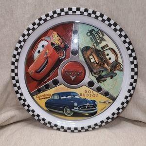 Disney's Cars dinner plate